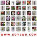 Orquídea branca arranjo atacadista de yiwu mercado para flores artificiais& bina