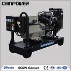 Cheap price 65KW Perkins Diesel Generator Set 50HZ 1500RPM/MIN 3PH Small diesel generators engine air cooled silent generator