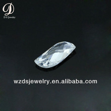 Wholesale AAA Special Leaf Shape White Lab Synthetic Cubic Zircon