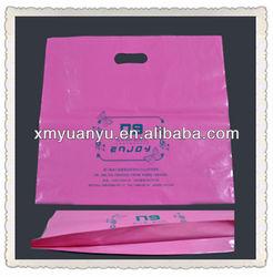 HDPE/LDPE handle plastic bag shopping bag