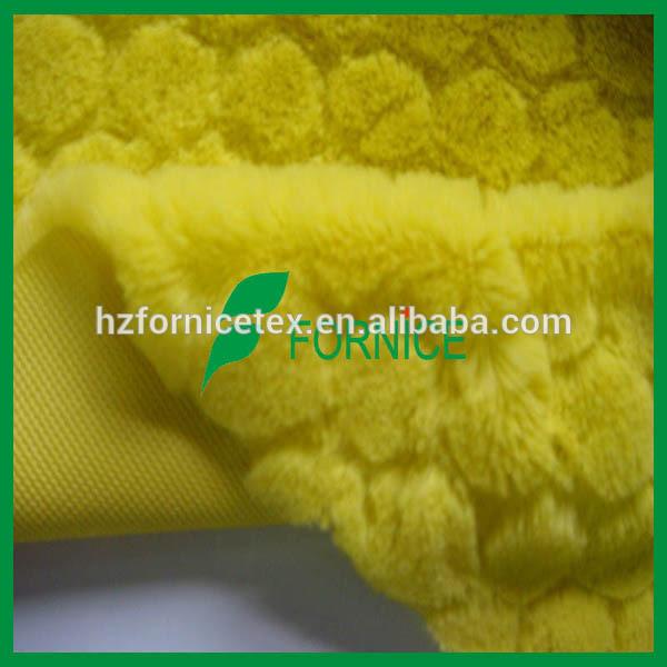 100% poliéster china fabrico de cabelo longo comprar tecido de pelúcia