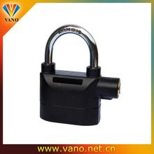 Automatic reset waterproof motorcycle alarm disc lock