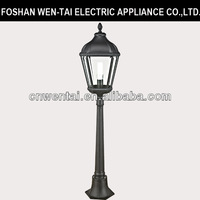 New style aluminum outdoor garden lighting electric wall lamps lantern