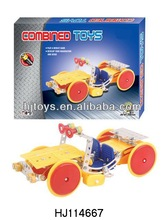 Electric Engineering Truck, 3D Diy B/O Shop Truck, Diy Metal Toys HJ114667