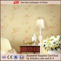 Natural material plant fiber interior 3d wallpaper for home decoration