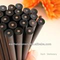 7 '' hb amostra grátis lápis, Lápis de madeira preto