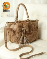 Hot sell nucelle lady genuine leather handbags