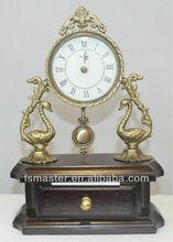 antiqued desk clock desk top clocks desk stand clock