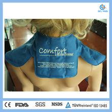 Nylon Reusable Blue Cool Gel Hot Cold Pack For Shoulder