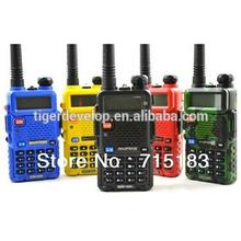 baofeng uv5r fm 5w dual band handheld vhf uhf new ham radio