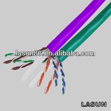 Best gigabit cat6 PVC insulate network cable