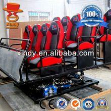 Original factory supply 9 seats 9d cinema simulator and 5d pneumatic system cinema 5 d