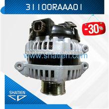 14V denso type automotive car alternator generator for CRV , 31100RAAA01 lester 13980R