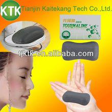 Far infrared ceramic powder added tourmaline bar soap