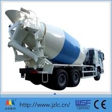New HOWO Concrete Mixer Truck For Concrete Batching Plant