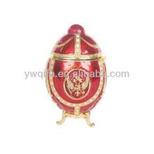Classics home decor faberge egg jewelry box(QF644)