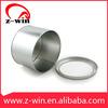Z-WIN Dia135xH96mm MB00042 Round Tin Box with Clear Window