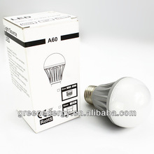 hot new products for 2014 A19 E27 dimmable CE TUV UL led golf ball lighting 7W 8W 9W