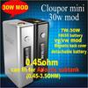 Magnetic Design Cloupor Mini 30W Box Mod Cloupor Mini Wholesale