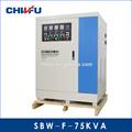 ce y rohs aprobados 75 kva plena compensación automática de tres fases del ascensor regulador de voltaje
