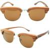 2014 handmade fashion wayfarer bamboo sunglasses/ wholesale wooden sunglasses