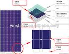 Westech Monocrystalline/Polycrystalline On-Grid/Off-Grid Solar PV Panel solar system for home
