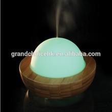 MN201303 Global Bamboo Glass Ultrasonic Aromatherapy Diffuser