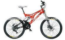 26 inch alloy 27 speed full suspension mountain bike for sale mountain bike/mountain bicycle SW-MTB-L007