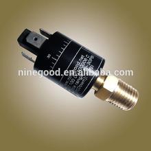Adjustable water brake pressure switch