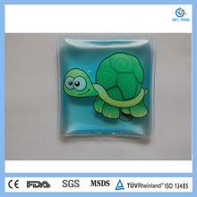 lovely reusable PVC gel heating pack for promotion