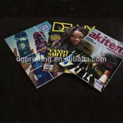 High quality custom magazines and catalogue printing