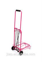 Two wheel good quality used hotel metal trolley luggage cart