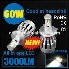 3000LM All in one H4 Hi/Low Beam car led light bulbs led car headlight kit For Honda