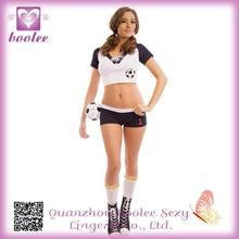 2014 HOt Sale Beautiful SEXY WM-TRIKOT SET Sexy Football Costumes For Women