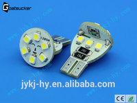 T10 serious 4w 12pcs smd reversing car light ,led t10 5050,auto cree led bulbs