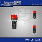 22mm CQC flashy action red indicator lamp led 110v