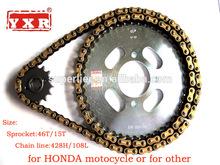 250cc China Motorcycle Parts Chain Sprocket