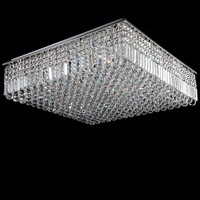 2014 New arrival low ceiling crystal chandelier for hotel project club villa
