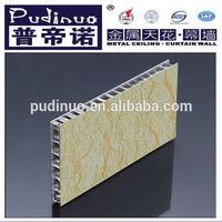 Garage wall honeycomb panel/exterior brick panels