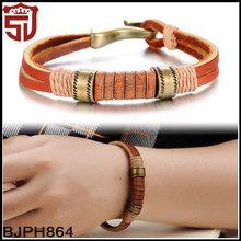 Latest Women Designs Genuine Leather Bracelet for 2015