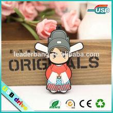 Colorful Mini cute type bride and groom usb flash drive