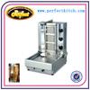 Stainless Steel Gas Gyro Machine/Gas Doner Kebab Machine(3 Burners)/Gas Vertical Boiler/Gas Shawarma Machine