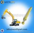 Excavadora hidráulica cilindros cubo, cilindros hidráulicos para excavadoras volvo piezas