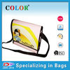 Customized PP non woven shoulder bag with zipper
