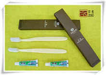 Custom Cheap Bulk Hotel Disposable Toothbrush with Package