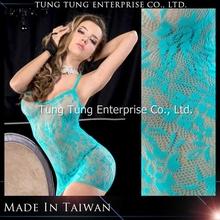 Taiwan Manufacturer Sexy Transparent woman Dress