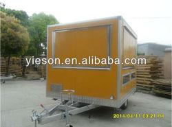 Mobile Food Truck For Sale food caravan camper trailer fast food kiosk/Mobile Kitchen Truck Food Van/food trailers YS-FV260