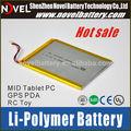 Custom design recarregável 5 v li ion polímero bateria