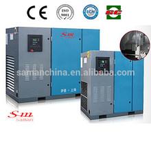 7.5kw Shanghai Industrial Belt Driven screw air compressor