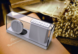SARDiNE SDY-033,New Style Wireless Amplifier Speaker Bluetooth / Transparent Solid Geometry Portable Mini Bluetooth Speaeker
